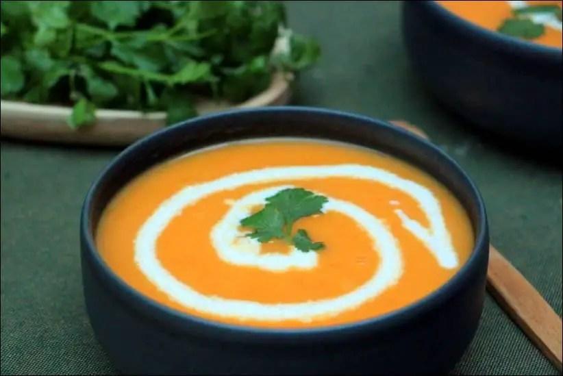 velouté carotte facile