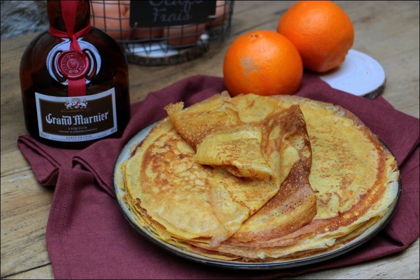 crêpes orange Grand Marnier