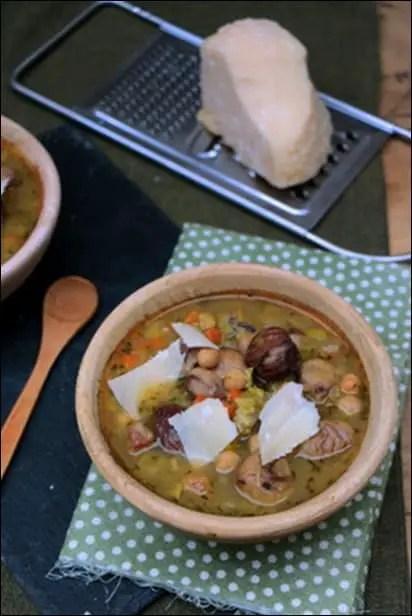 soupe pois chiches legumes