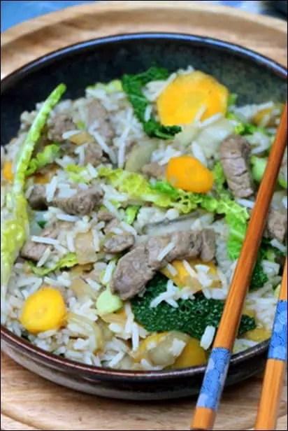 wok boeuf marinade