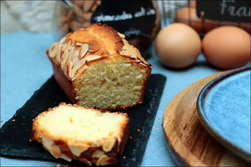 cake à la pâte d'amande et fleur d'oranger de Sophie Dudemaine