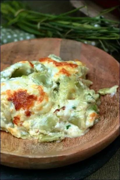 gratin ravioles creme fromage