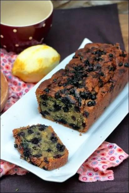 cake moelleux myrtilles