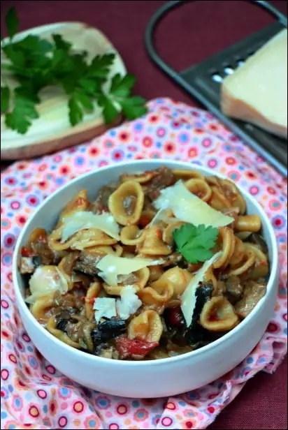 one pot pasta champignon