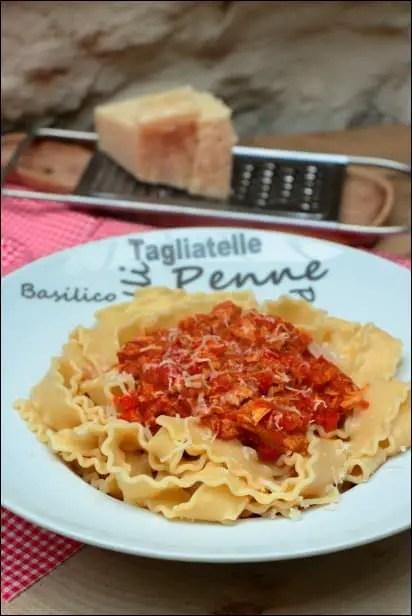 pates thon et sauce tomate