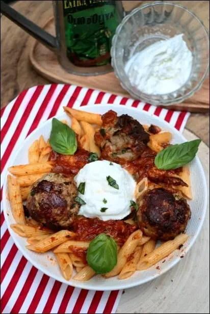boulettes sauce tomate cyril lignac cuisine az