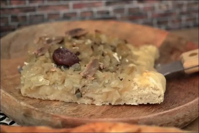 pissaladière avec pate à pizza