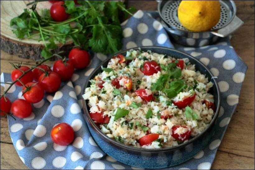 salade poisson blanc