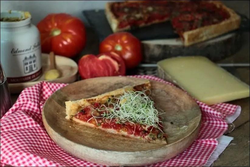 tarte tomate herbes de provence