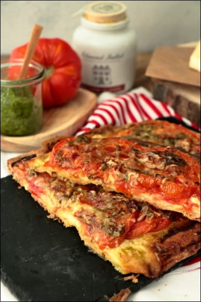 tarte tomate pesto