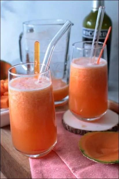 cocktail au melon frais