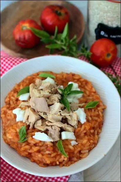 risotto tomate basilic cyril lignac