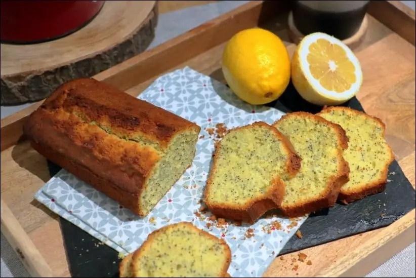 cake citron pavot moelleux