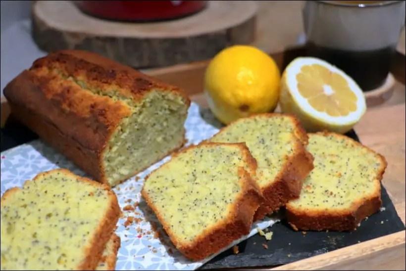 cake citron pavot recette
