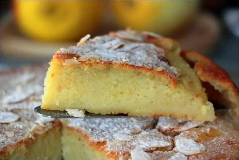 gateau moelleux citron et ricotta