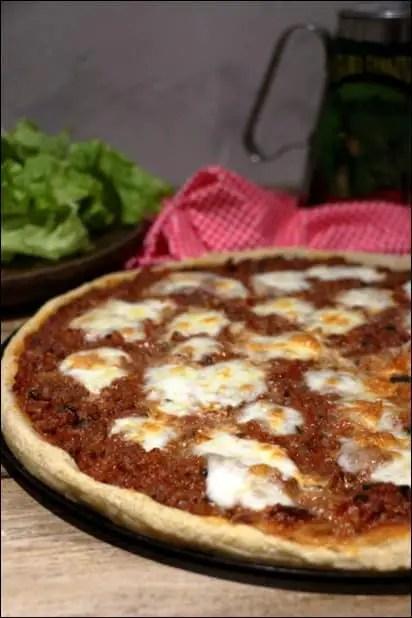 pizza bolognaise maison facile