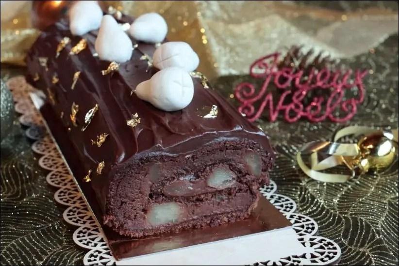 buche facile poire chocolat