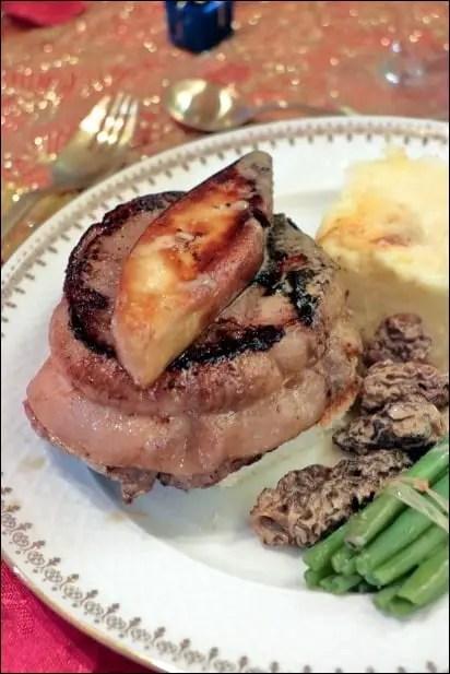 tournedos rossini au foie gras