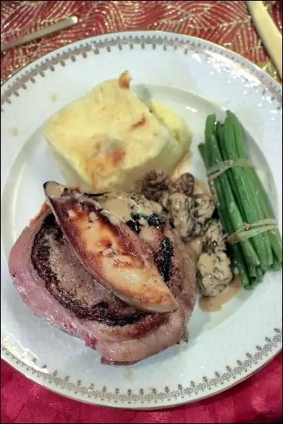 tournedos rossini foie gras frais