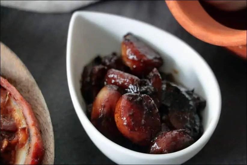 ail caramélisé vinaigre balsamique
