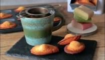 madeleines à la pâte d'amande