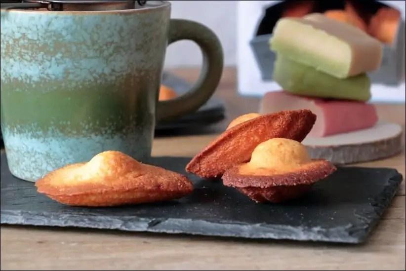 recette madeleines amande amère