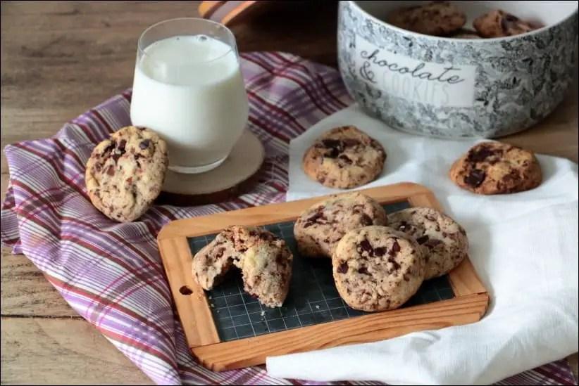 cookies 2 chocolats recette cyril lignac