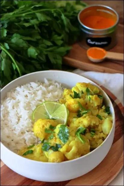curry chou fleur blog