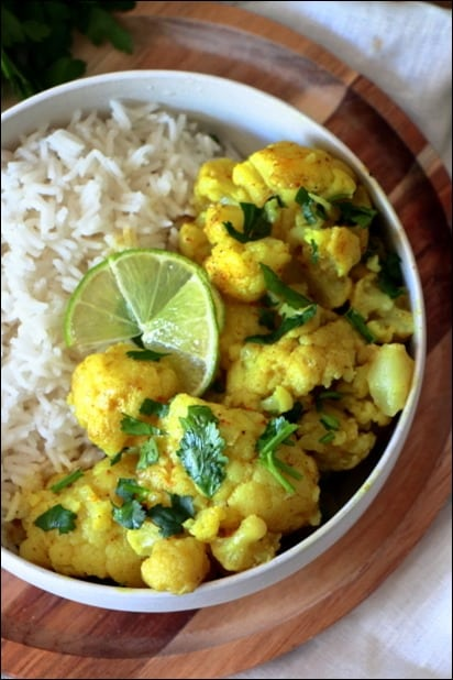 curry chou fleur coco
