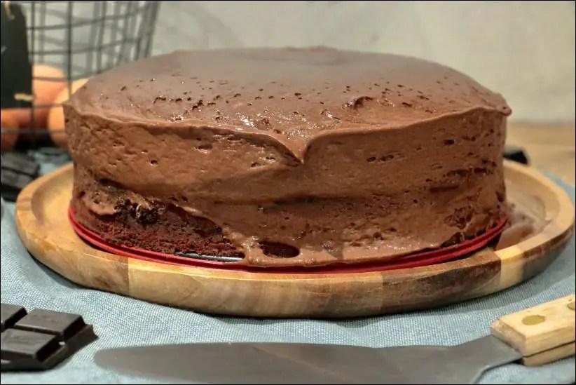 gateau chocolat à la mousse au chocolat