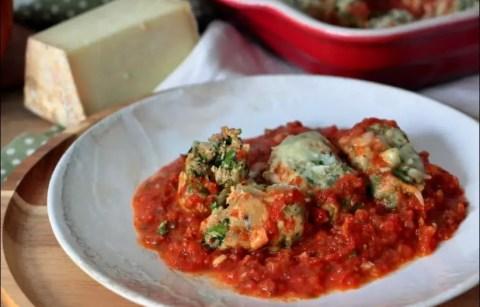 storzapretti à la sauce tomate