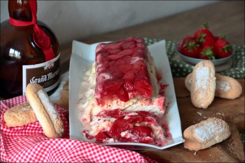 tiramisu fraises roties