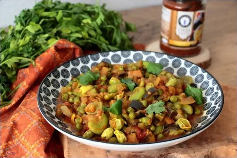 petit pois au curry