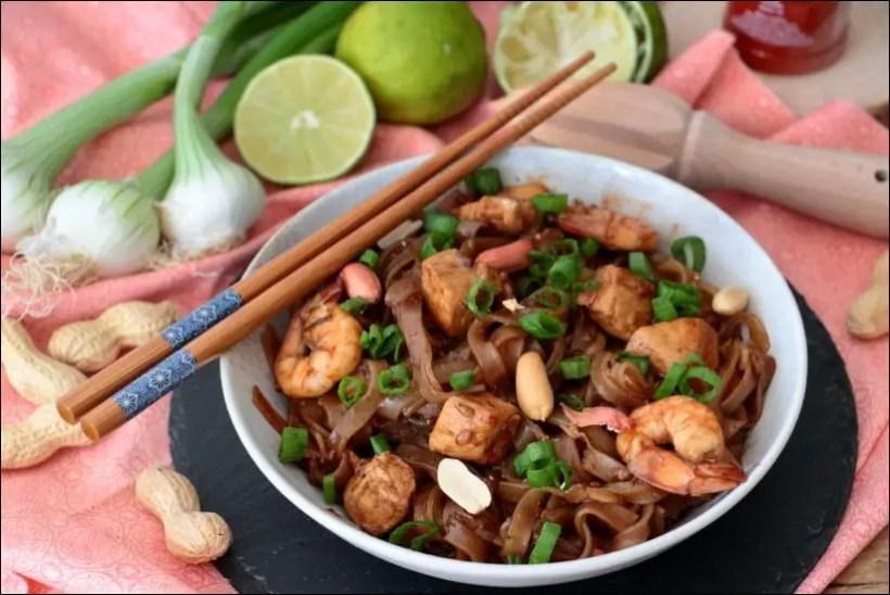 pad thai poulet