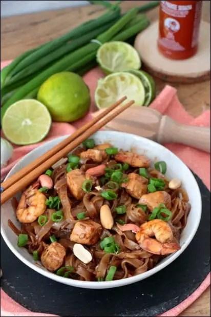 pad thai au wok