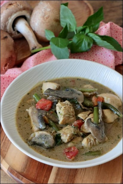 poulet curry asiatique