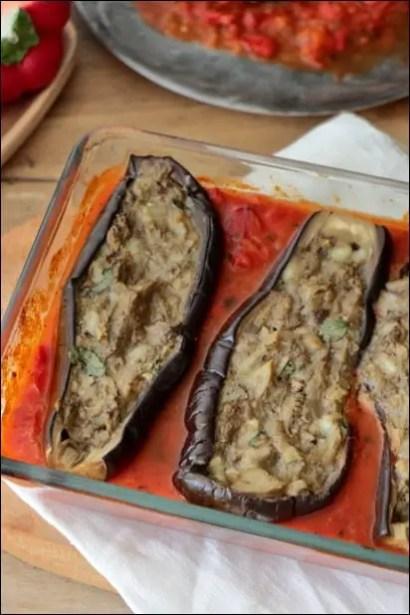 aubergines farcies bonifacienne