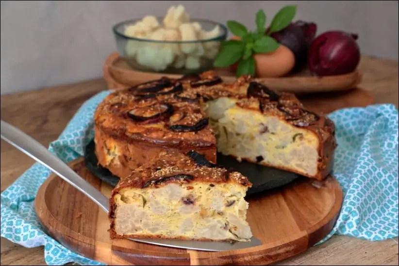 gâteau de chou-fleur de Yotam Ottolenghi