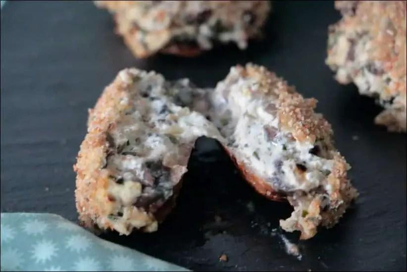 champignons farcis cyril lignac