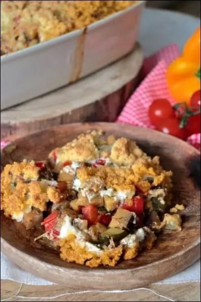 gratin légumes creme de chevre
