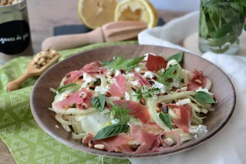 Salade de fenouil au jambon de Laurent Mariotte