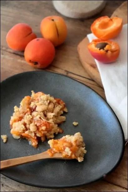 tian aux abricots et amandes