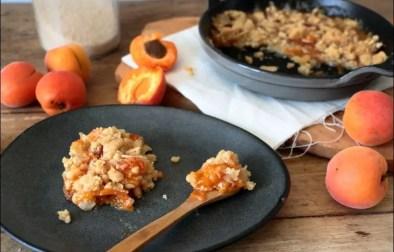 tian aux abricots amandes et pignons