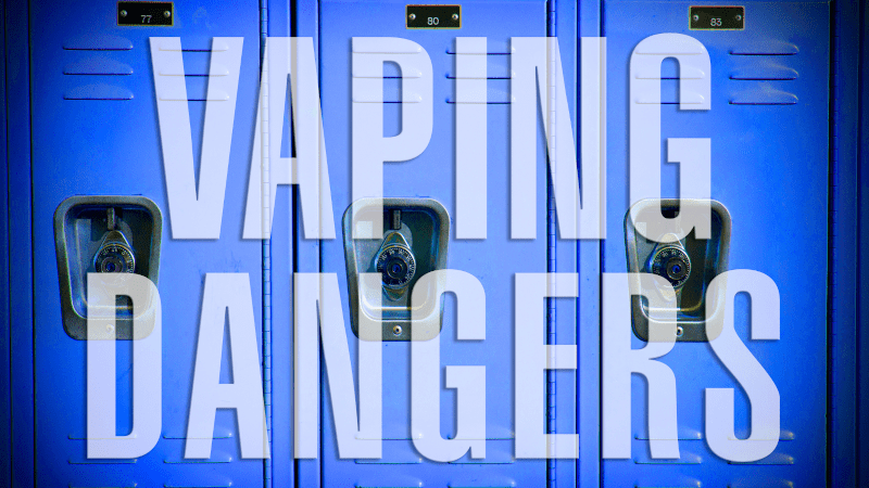Helping adolescents understand the dangers of vaping from an early age will help them make better choices