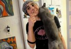 Cat Who Spend Her Entire Life Locked In Cage, Finally Feels Love For The First Time!