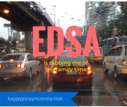EDSA Traffic robs mothers of family time