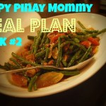 Happy Pinay Mommy Weekly Meal Plan