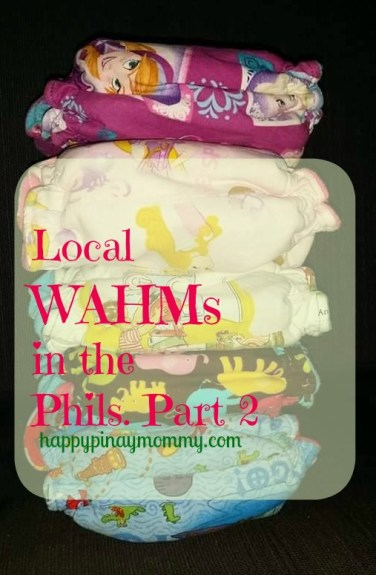 Local WAHMs that make Hybrid Fitted Diapers in the Philippines Part 2