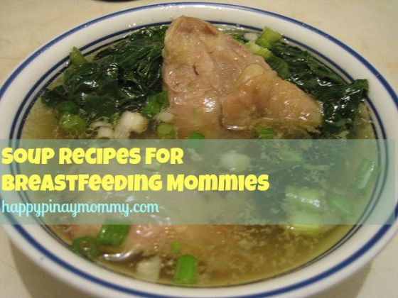 Filipino Soup Recipes for Breastfeeding Moms
