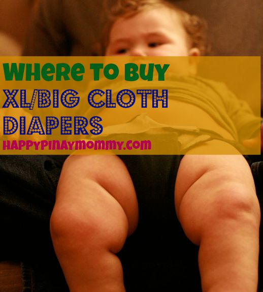 buy XL or Big Sized Cloth Diapers in the Philippines